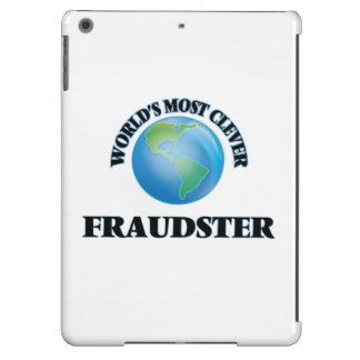 World's Most Clever Fraudster Cover For iPad Air
