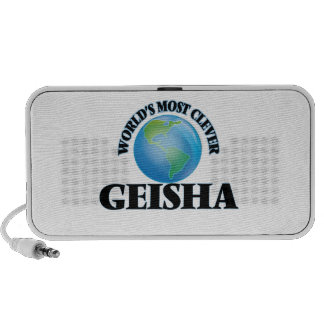 World's Most Clever Geisha iPhone Speakers