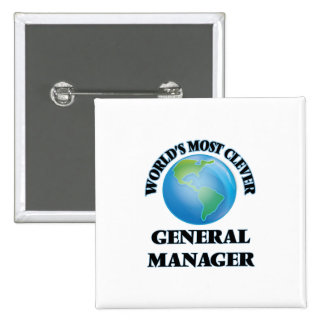 World's Most Clever General Manager Button