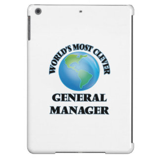 World's Most Clever General Manager Cover For iPad Air