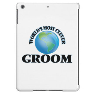 World's Most Clever Groom iPad Air Cases