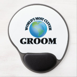 World's Most Clever Groom Gel Mouse Mats