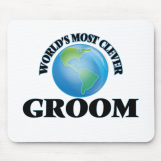 World's Most Clever Groom Mousepad