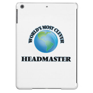 World's Most Clever Headmaster iPad Air Cases