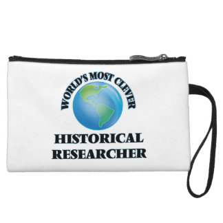World's Most Clever Historical Researcher Wristlet Purses
