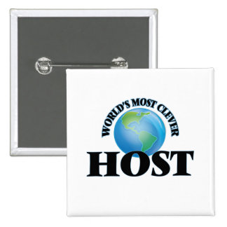 World's Most Clever Host Pin