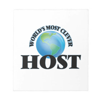 World's Most Clever Host Memo Pads
