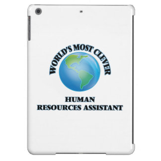 World's Most Clever Human Resources Assistant iPad Air Cases