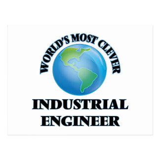 World's Most Clever Industrial Engineer Postcard