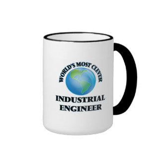 World's Most Clever Industrial Engineer Ringer Coffee Mug