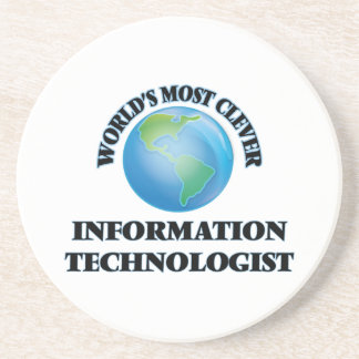 World's Most Clever Information Technologist Coasters