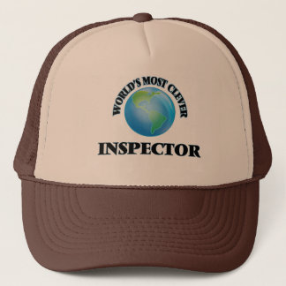 World's Most Clever Inspector Trucker Hat