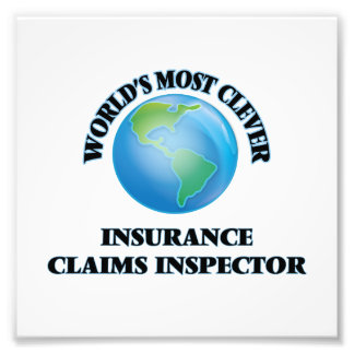 World's Most Clever Insurance Claims Inspector Photo