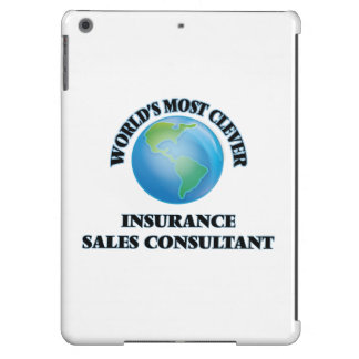 World's Most Clever Insurance Sales Consultant Cover For iPad Air