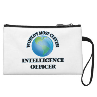 World's Most Clever Intelligence Officer Wristlet Clutch
