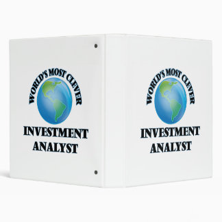World's Most Clever Investment Analyst Binders