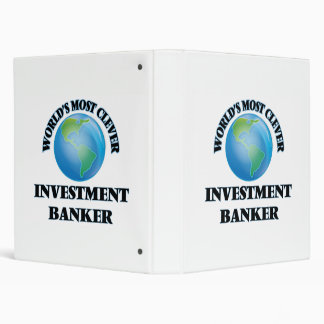 World's Most Clever Investment Banker Vinyl Binders