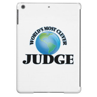 World's Most Clever Judge iPad Air Case