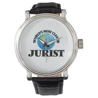 World's Most Clever Jurist Watches