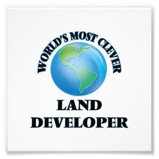 World's Most Clever Land Developer Photographic Print