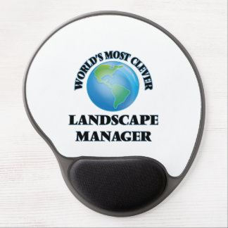 World's Most Clever Landscape Manager Gel Mouse Pad