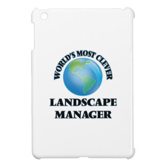 World's Most Clever Landscape Manager iPad Mini Covers