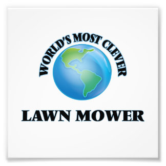 World's Most Clever Lawn Mower Photo Print