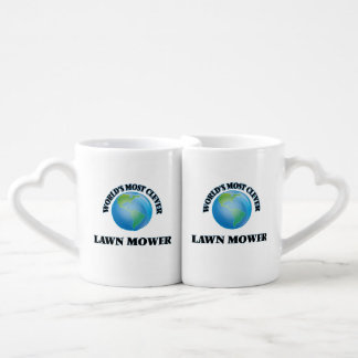 World's Most Clever Lawn Mower Couples' Coffee Mug Set
