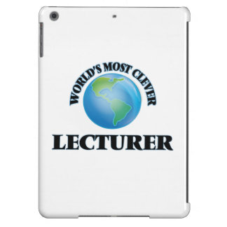 World's Most Clever Lecturer Case For iPad Air
