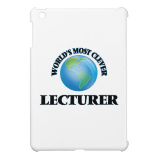 World's Most Clever Lecturer iPad Mini Covers