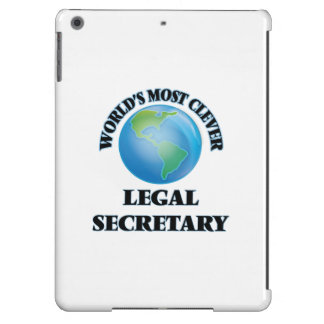 World's Most Clever Legal Secretary iPad Air Case