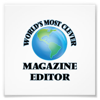 World's Most Clever Magazine Editor Photo
