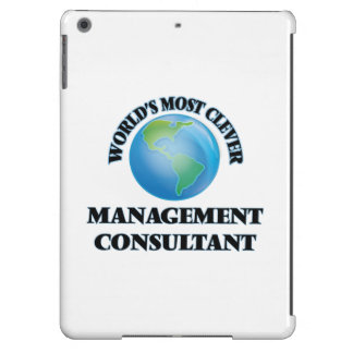 World's Most Clever Management Consultant iPad Air Case