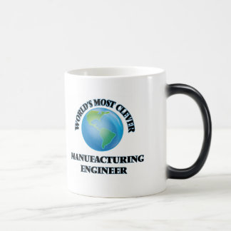 World's Most Clever Manufacturing Engineer 11 Oz Magic Heat Color-Changing Coffee Mug