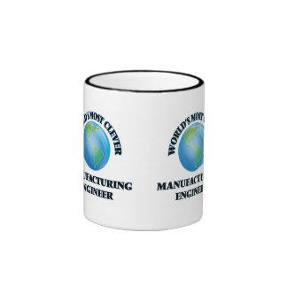 World's Most Clever Manufacturing Engineer Ringer Coffee Mug
