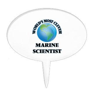 World's Most Clever Marine Scientist Cake Pick