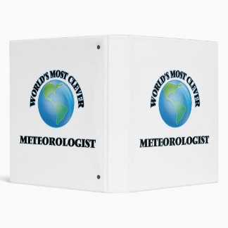 World's Most Clever Meteorologist Binders