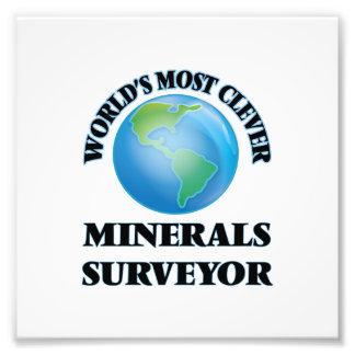 World's Most Clever Minerals Surveyor Art Photo