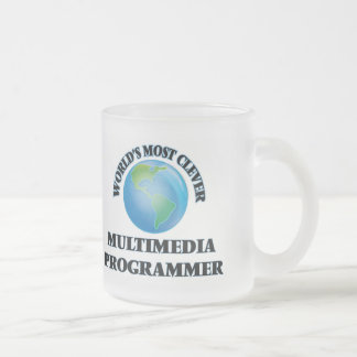 World's Most Clever Multimedia Programmer Coffee Mugs