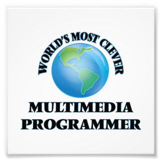 World's Most Clever Multimedia Programmer Photo Art