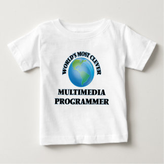 World's Most Clever Multimedia Programmer Tee Shirts