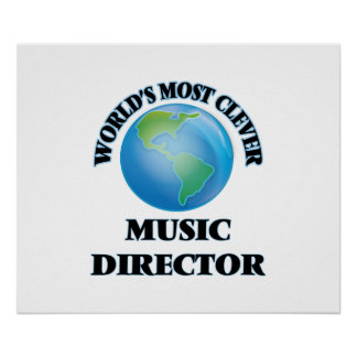 World's Most Clever Music Director Poster