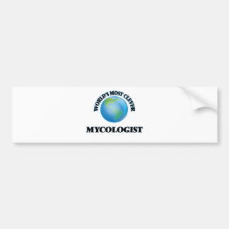 World's Most Clever Mycologist Car Bumper Sticker