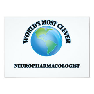 World's Most Clever Neuropharmacologist Cards