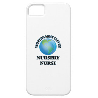 World's Most Clever Nursery Nurse iPhone 5 Cases