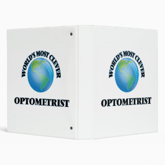 World's Most Clever Optometrist Binders