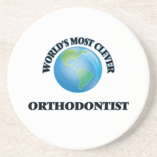 World's Most Clever Orthodontist Beverage Coaster