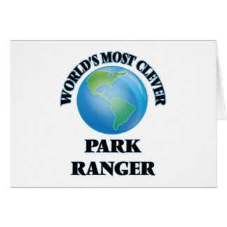 World's Most Clever Park Ranger Cards