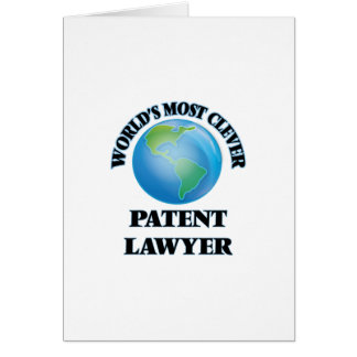 World's Most Clever Patent Lawyer Card