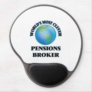 World's Most Clever Pensions Broker Gel Mousepads